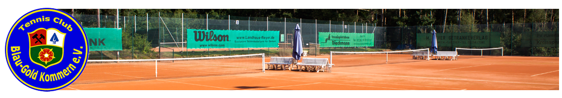 Tennisclub Blau-Gold Kommern e.V.